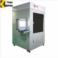 KINGS8500-H Industrial Big Size SLA 3D Printer /Digital Plastic Printing Equipment