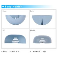 DIY soap holder reusable plastic fashion soap holder for sell