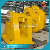 abrasion resistant sand gravel pump