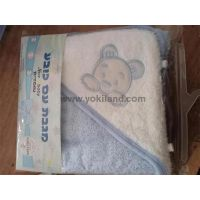 YKT7056 100% cotton baby hooded towel thumbnail image