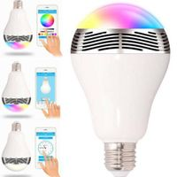 2016 Fashion Smart led bulbs bluetooth speaker smart bulb speaker