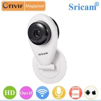 Sricam HD 720p Wifi baby monitor NVR Security Camera wireless cctv camera with memory card slot