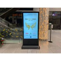 32/43/49/55/65/70/75/86/98 Inch Indoor Standing LCD Advertising Player Advertising Screen Kiosk thumbnail image