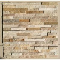 Exterior and interior natural slate wall stone ledge stone