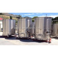 5000L variable capacity wine fermenter