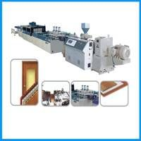PVC Window Sill Production Line/WPC Window sill extrusion machine thumbnail image