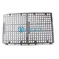 D400 1000x300/400/500/600x100mm with 2 gratings Square Manhole Covers Co Dia600 thumbnail image