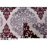 jacquard cut velvet curtain fabric NB130607D-15