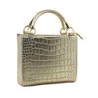 fashional crocodile pu leather ladies' handbag thumbnail image