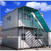 Two Stories Folding Container House
