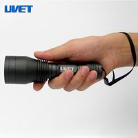 Professional industrial inspection LED UV NDT flashlight