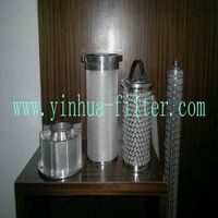Stainless Steel Filter Cartridge (Sintered Mesh)