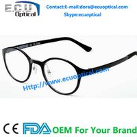 Vintage acetate Keyhole Bridge round optical eyewear, 2014 new fashion Produced reading glasses