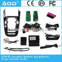 Intelligent Push Button to Engine Start/Off with PKE and BLUETOOTH for AUDI A4 thumbnail image