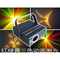 15K Scanner ILDA DMX512 animation RGY laser light