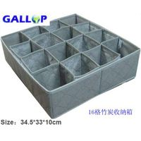 16 grid bamboo charcoal receive box