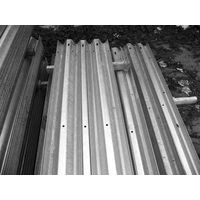 w beam highway guardrail
