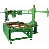 Edge polishing machinery for curved line