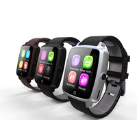 1.54inch screen 2G smart watch with 360mAh big battery