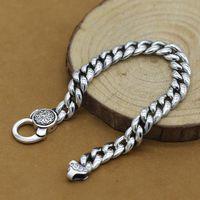 S925 Silver Men's Jewelry Bracelet B5291