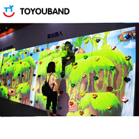 Interactive Projection Climbing Wall by Toyouband for Indoor Playground