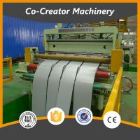 3*2000mm Sheet metal coil rotary shear cut to length line with uncoiler/leveling/stacking device