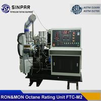 Octane rating test equipment conforming to ASTM D2699 RON/ASTM D2700 MON