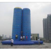 inflatable climbing wall thumbnail image