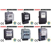 Single Phase or Three Phase Mechanical KiloWatt-Hour Meter