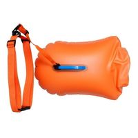 Open Water Swimming Inflatable Swim Buoy Flotation Device Safer Swimmer Buoys For Swimmers Triathlet