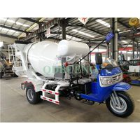 2m³ tricycle Cement Concrete Mixer Truck thumbnail image