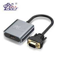 VGA Male to HDMI Female with 3.5mm Audio Cable & Power Supply 1080P VGA to HDMI Adapter Converter thumbnail image