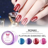 RONIKI Diamond Gel,Diamond Gel China Supplier,Platinum Diamond Gel Polish,Nail Art Gel