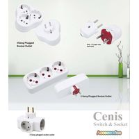 Plug, extension socket, adapter, junction box, thumbnail image