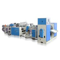 Full-automatic Star Seal Flat/T-shirt Rolling Bag Making Machine With Coreless