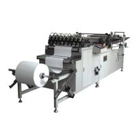 Stainless Steel Knife Pleating Machine Air Filter Manufacturing Equipment