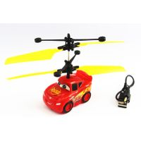 hand sensor induction flying car toy