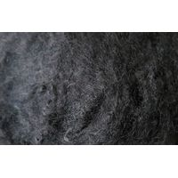 RECYCLED BLACK POLYESTER FIBER WITH GRS thumbnail image