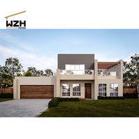 Modern Steel Frame Villa