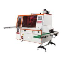 1 color automatic servo screen printing system