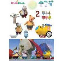 4B_1Korea Animation Choo Choo Train Wall decor