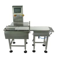 500g food online checkweigher,miss parts automatic checkweigher manufactory price