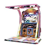 Dance King Arcade Video Dancing Game Machine Redemption Game Machine Coin Operated thumbnail image
