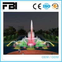 20m round music dancing fountain, lake fountain