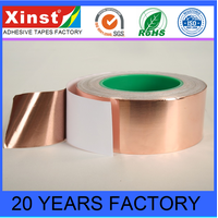 Conductive PET Mylar Copper Foil Tape Insulation Copper Foil Tape For Soldering