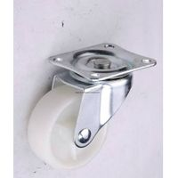 PPNylong Wheel Casters, 1.5 Inch Flat-Tapped Events, Light Duty