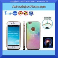 mobile phone case plastic anti-radiation back cover for iphone6s plus