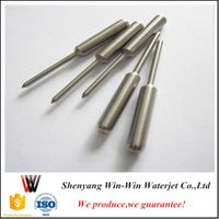 Waterjet spare parts HP valve stem for kmt waterjet cutting machine