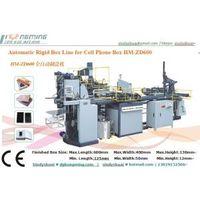 HM-ZD600 Automatic Rigid Box Machine for samsung box