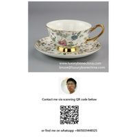 Fine Bone China Coffee Cups Porcelain Factory Direct Supply Contact Now